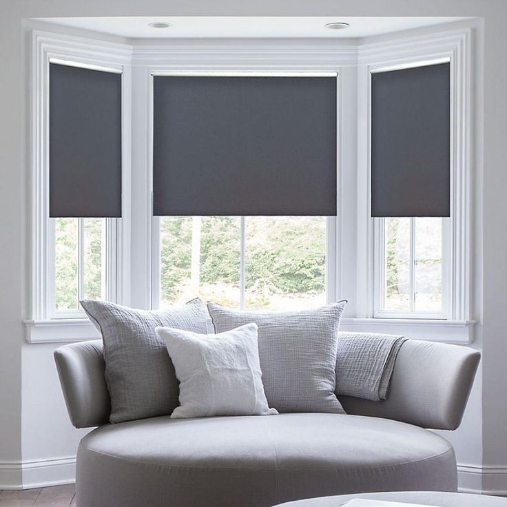 Best 25 window blinds ideas on pinterest window for Blind ideas for bay windows