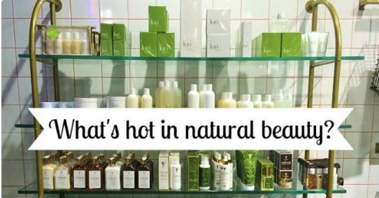 Latest trends in Natural Skincare