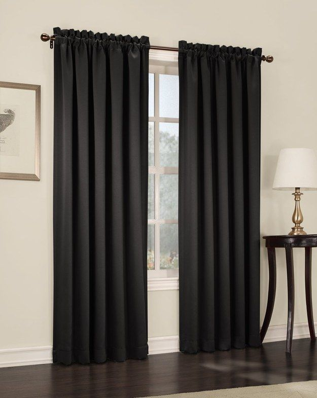 Darkening curtains are also a terrific help for putting a baby to sleep — and keeping them asleep.