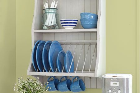 Boost the charm and functionality of your kitchen with a DIY plate rack. We guide you through the project step-by-step. | Photo: Wendell T. Webber | thisoldhouse.com