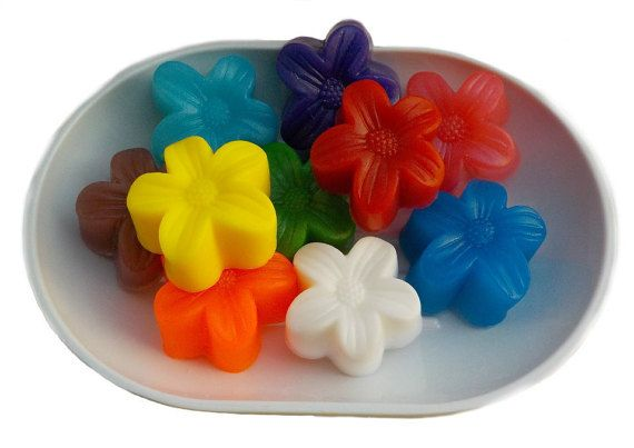 Check out this item in my Etsy shop https://www.etsy.com/ca/listing/502387317/10-party-favor-soap-flower-soap-mini