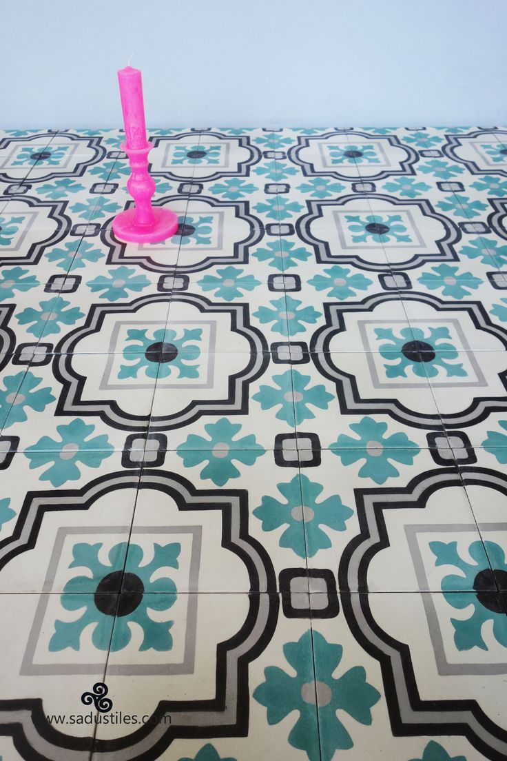 Our 15 x 15 cm handmade cement tiles on order so personalize your tiles and add some style to your house