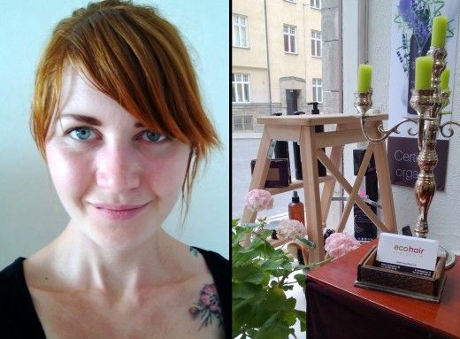 Farliga ämnen i hårvårdsprodukter hos en vanlig frisör har negativa effekter både på dig och miljön. – Det kändes inte bra att spola ner dessa ämnen i avloppet, säger Caroline Flinkenberg som är en av ägarna till ekosalongen Ecohair i Stockholm.