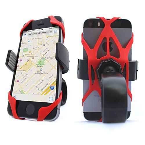 Vibrelli Universal Bike Phone Mount Holder. Fits any Smart Phone