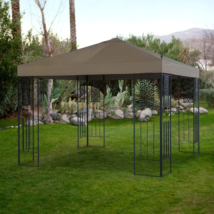 Have to have it. Garden Bloom 10 x 10 ft. Gazebo Canopy $279.99
