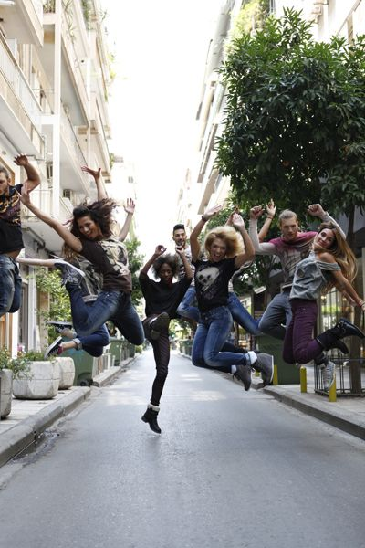 Dance to your jeans campaign A.W 13.14