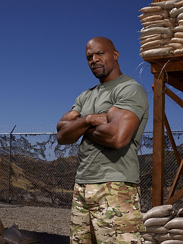 Terry Crews.  #StarsEarnStripes