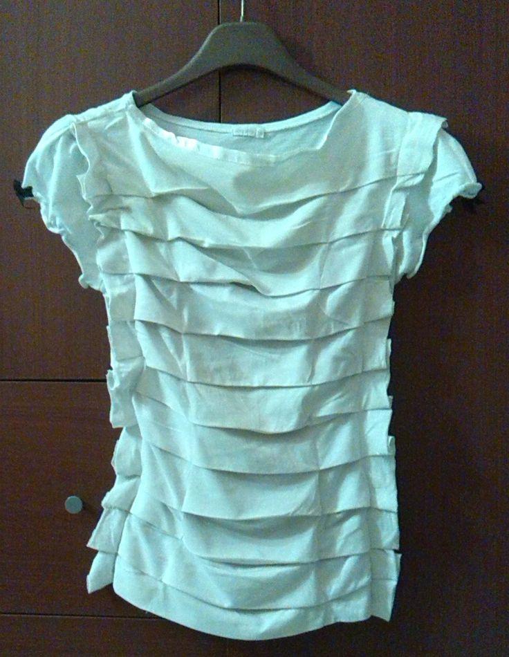 Recupero: una maglia con una brutta stampa, è stata ricoperta con due t-shirt. :)