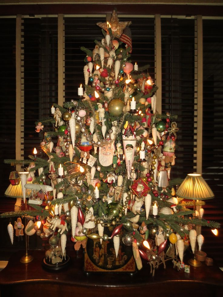 5 Table Top Tree On The Sideboard In The Dining Room All