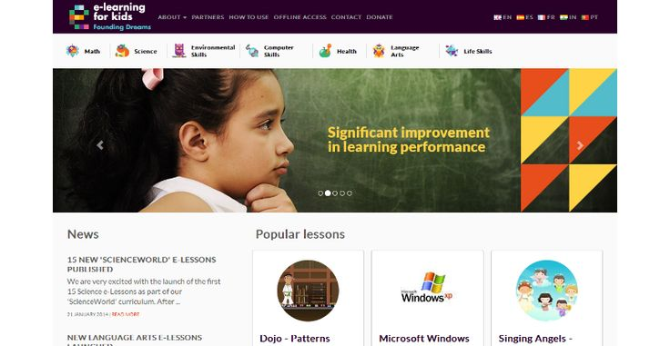 e-learning for kids – Best Free e-learning Portal for Kids