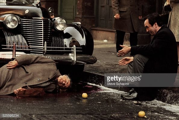 Fredo Corleone breaks down after an assassination attempt on his father Vito Corleone.