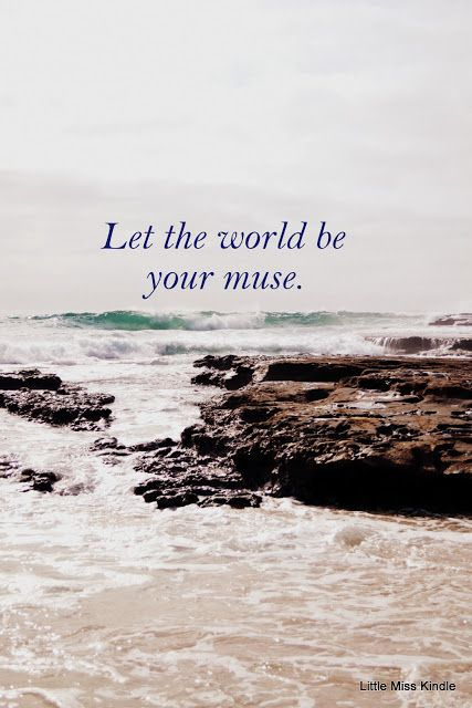 Little Miss Kindle: Let the 'Whole Wide World' Inspire you!