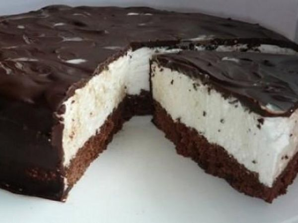 """Tortul """"Eskimo"""" — un desert incredibil de delicios! - Retete-Usoare.eu"""