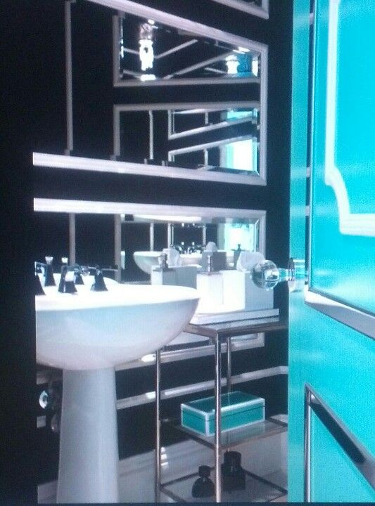 Tiffany Blue Bathroom Bathroom Pinterest Tiffany