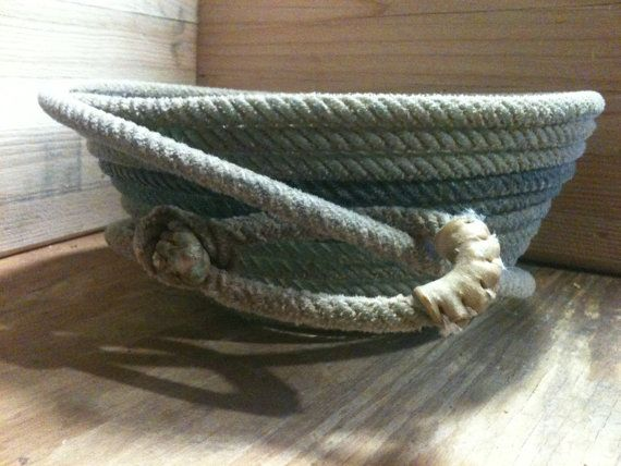 how to make cowboy rope baskets