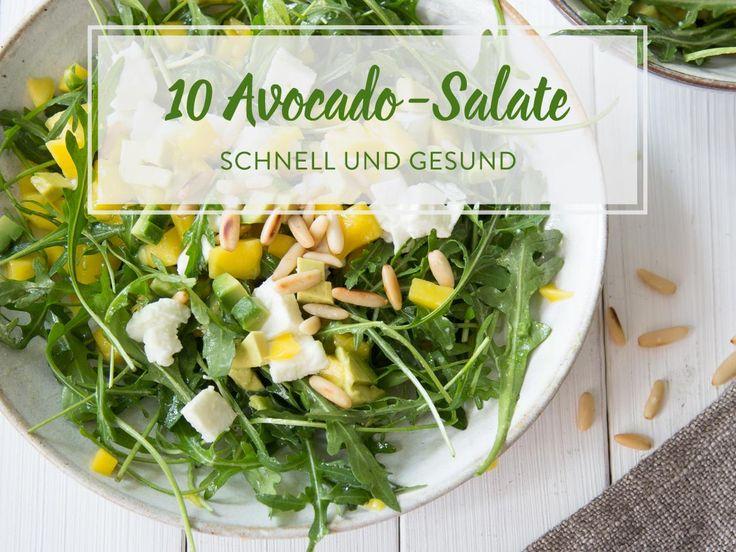 54 besten salate bilder auf pinterest salate essen und. Black Bedroom Furniture Sets. Home Design Ideas