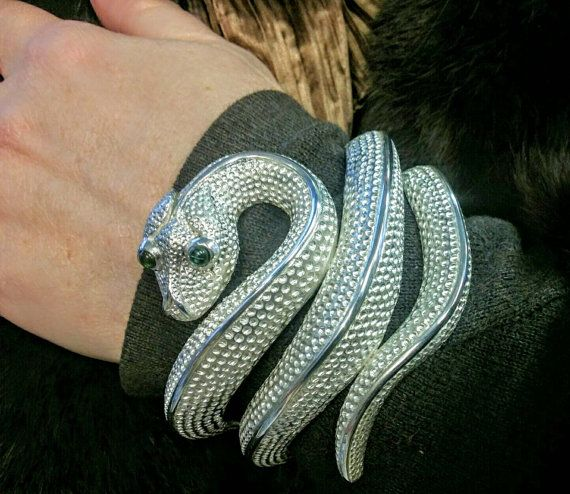 Check out this item in my Etsy shop https://www.etsy.com/uk/listing/477449542/snake-bracelet-cuff