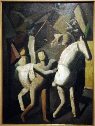 The White Horse - Mario Sironi