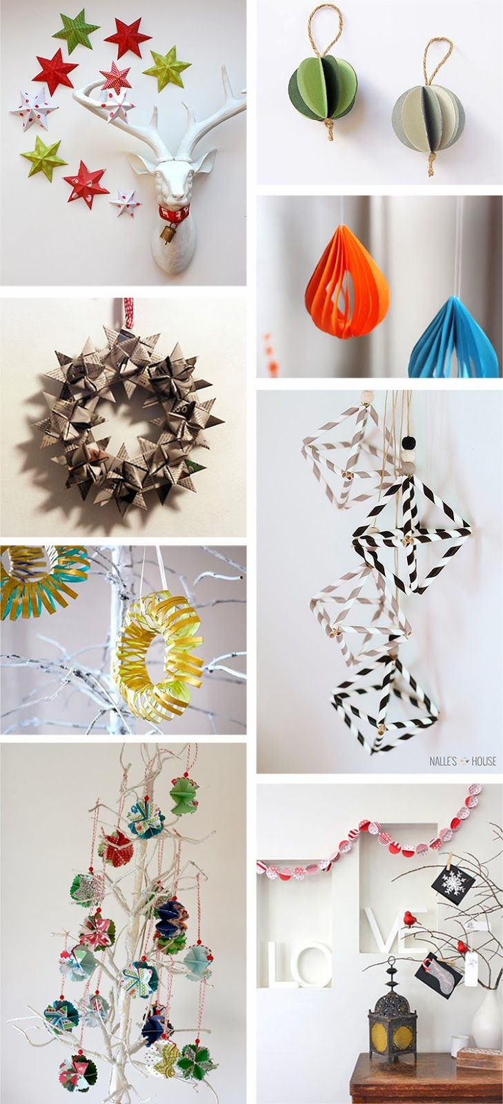 Gorgeous Christmas Decorations by Ohoh Blog - diy and crafts #diy #xmas #decor