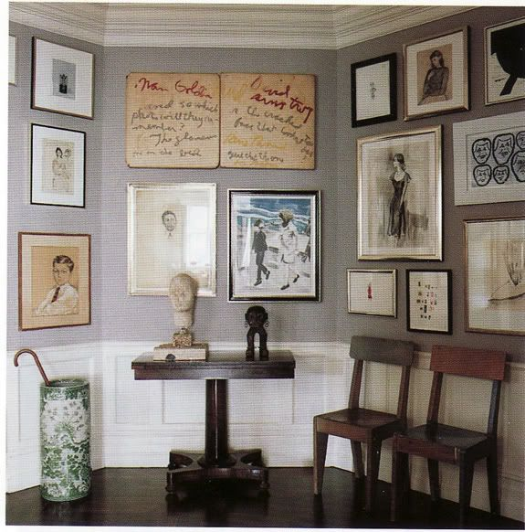 Art Wall. Dream Book Design: Design Inspiration Monday