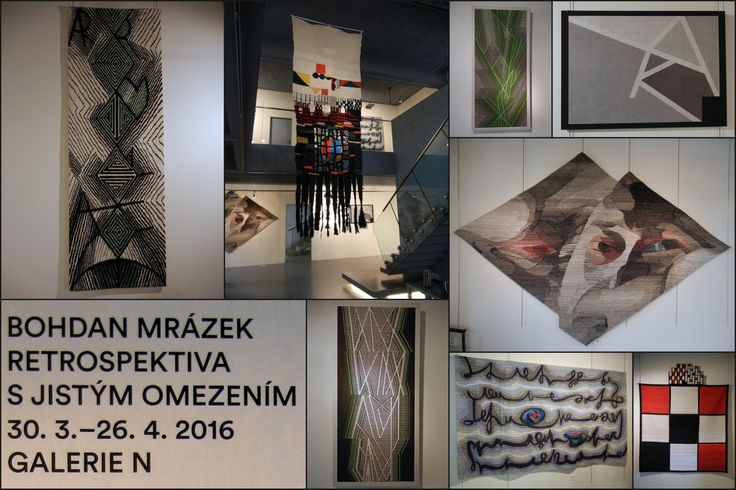 Jablonec n. N.: výstava tapiserií Bohdan Mrázek Retrospektiva s jistým omezením, 30. 3. - 26. 4. 2016