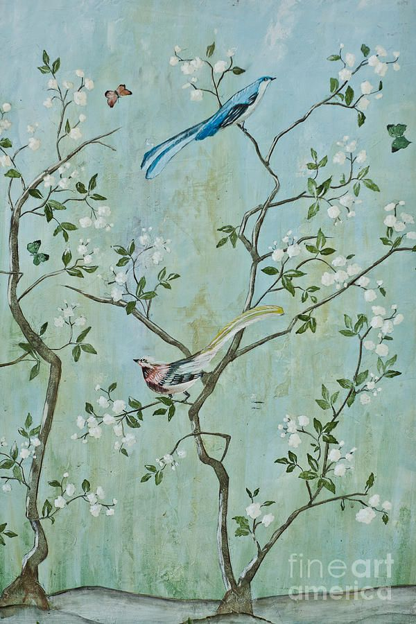 Sweet Chinoiserie Painting