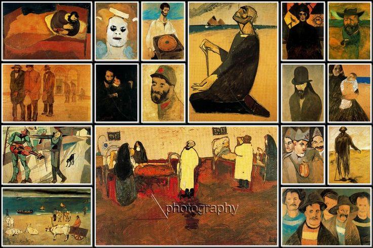 #LorenzoViani #Paintings #Collage http://arts-time.blogspot.rs/2015/10/lorenzo-viani-paintings-collage.html #art
