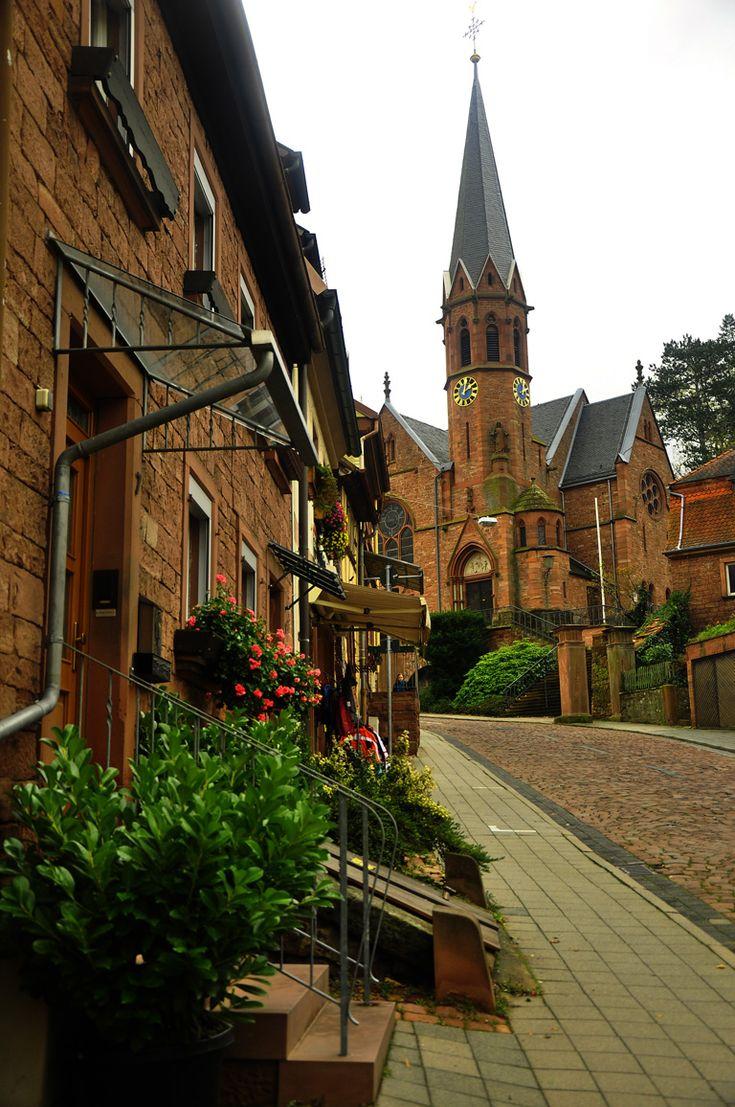 historische Altstadt Straßen- Miltenberg, Deutschland