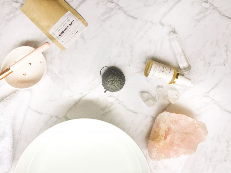 Goddesses bathroom!  Astral collective all natural skincare infused with crystals and aromatherapy for modern goddesses