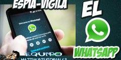 ¡Espía conversaciones de WhatsApp de cualquier persona! Ahora espiar conversaciones de WhatsApp de cualquier número celular es muy fácil con esta aplicación, no contiene virus y es muy rápida al funcionar.Mira el Vídeo y Ve Como Funciona!