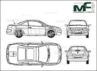Mejores 298 imgenes de renault blueprints en pinterest renault megane coupe cabriolet 2003 blueprints ai cdr cdw malvernweather Gallery