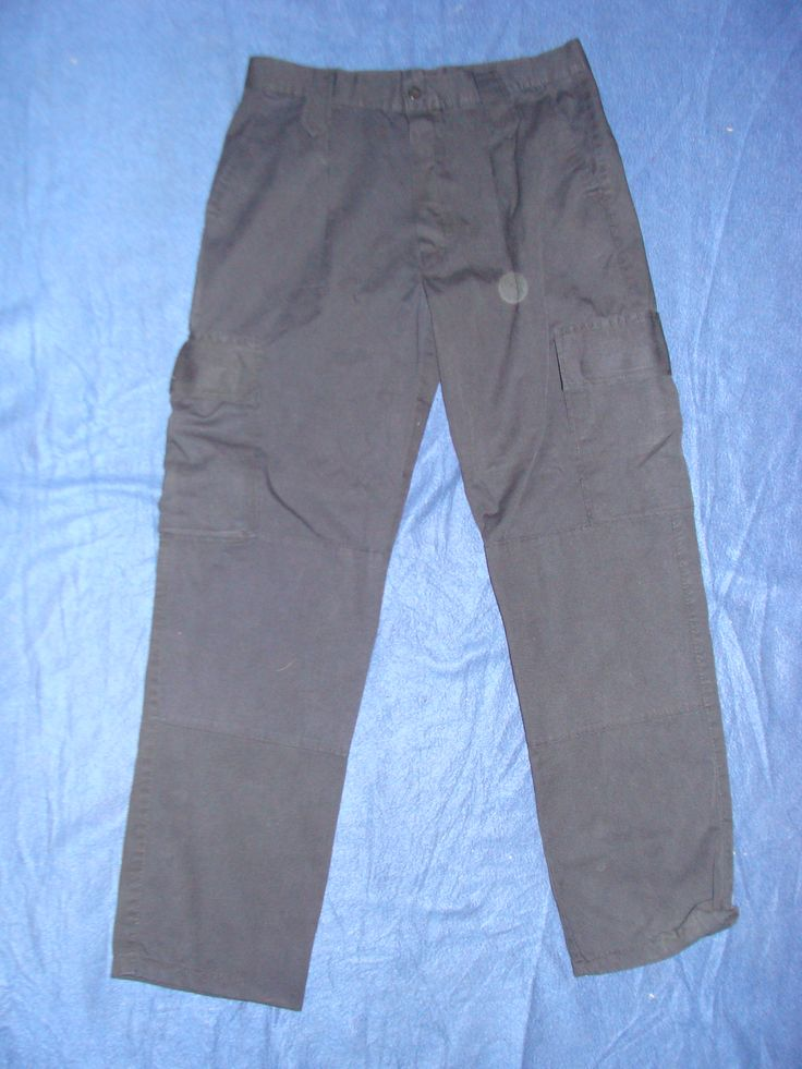 Portuguese Red Cross work trousers.