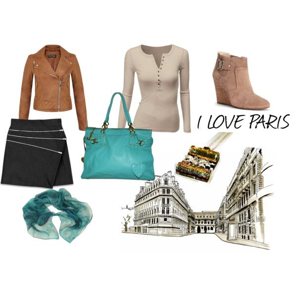 I Love Paris by mano-merce on Polyvore featuring Doublju, Miss Selfridge, Yves Saint Laurent, Sole Society, Juicy Couture and Yuh Okano