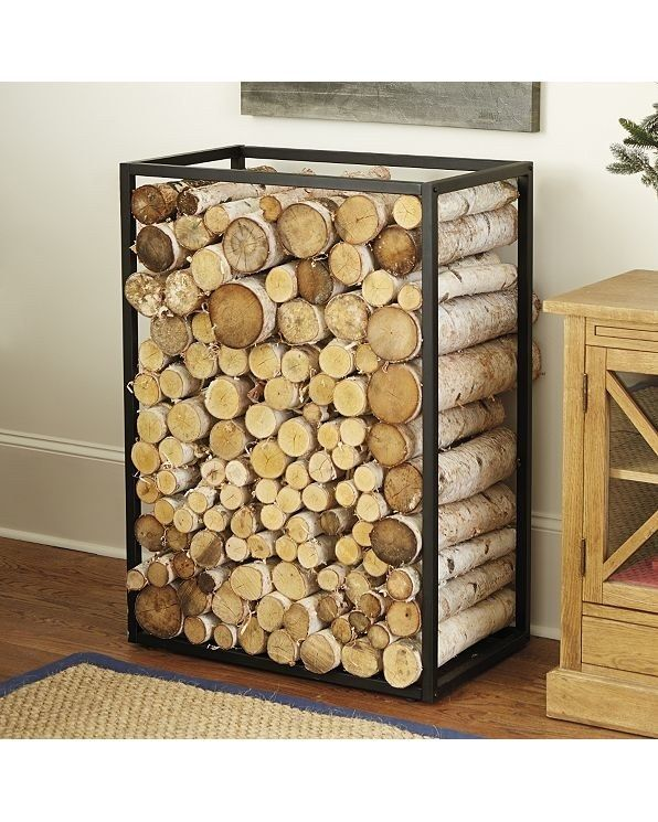 Best 25+ Log holder ideas on Pinterest | Fire pit log ...