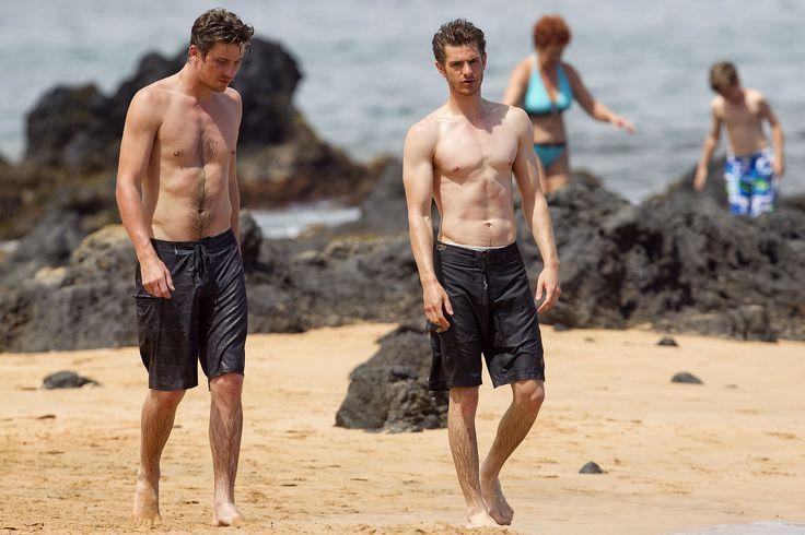 Andrew Garfield and Garrett Hedlund Shirtless in Hawaii - 6andrew ...