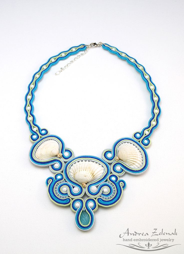 Soutache necklace S0288
