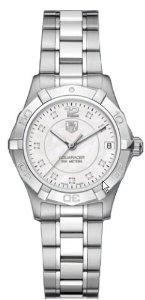 TAG Heuer Women's WAF1312.BA0817 Aquaracer Quartz Watch, (aquaracer, tag heuer, watches, ladies tag watch, tag, luxury, carrera, heuer, womens diamond watches, tag watch)