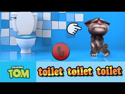 My Talking Tom cat game movie for kids. Cat Tom Video (iOS/Android).