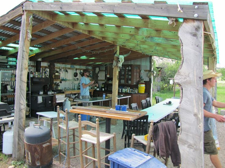 I Want This Outdoor Kitchen!