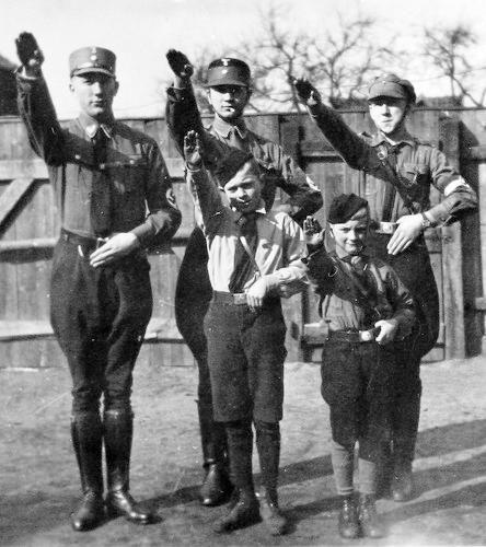 Sturmabteilung and Hitlerjugend.
