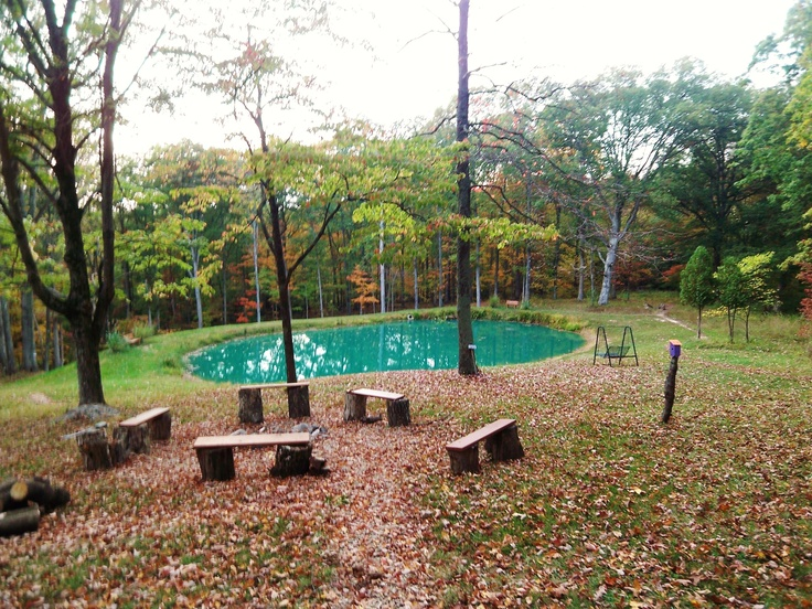The Oaks Cabin  a vacation rental in beautiful Brown County Indiana   Firepit and stocked pond  see www awesomebrowncountycabins com   Pinterest    Brown  The Oaks Cabin  a vacation rental in beautiful Brown County  . Rental Cabins In Brown County Indiana. Home Design Ideas