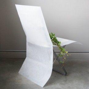 Vaisselle Jetable - Accessoire - Housse de chaise