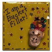 """""""I am a Bucket Filler!"""" Lapel Pin #bucketfilling"""