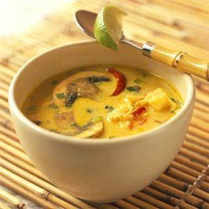 Spicy Thai Lobster Soup |