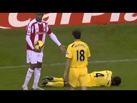 Funny soccer injuries