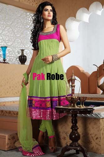 Pink/Aqua Green Party Dress Pakistani and indian Dresses in UK and USA. Pakistani wedding dresses and bridal dresses.Pakistani Designer Party Dresses, Sami Party Dresses, Wedding Speacial and Casual Dresses. Shop Party Dresses at: www.PakRobe.com Visit our online shoping store www.PakRobe.com