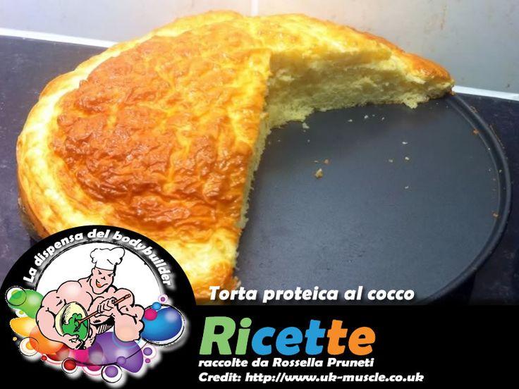 Torta proteica al cocco