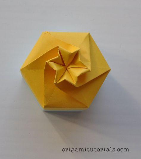 Origami-Hexagonal-Box-Tutorial