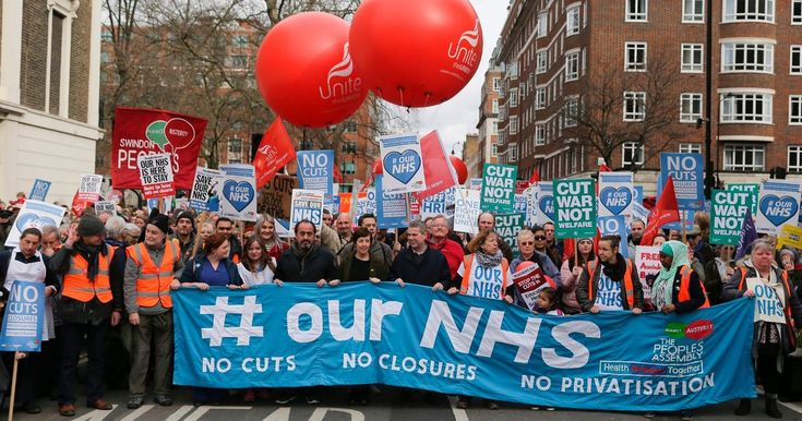 Jeremy Corbyn and John McDonnell were among those to address one of the biggest NHS rallies in history in opposition to £20billion of planned cuts