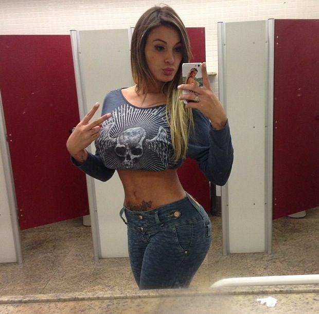 Andressa Urach Sexy Latina Ass Milf Damn